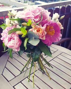 #flowers #buquet #roses #vuvuzela #love #vendastyle #peony #pink #romantic