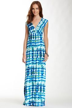 Tie Dye Maxi Dress by Renee C on @HauteLook