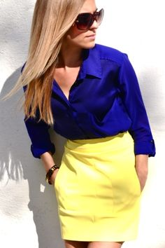 Colors | Blue & Yellow