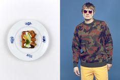 來自哥本哈根的雜誌Bitchslap Magazine 最近以特別的方式去介紹春夏服裝。編輯以不同的丹麥菜式作為藍本,從顏色出發,搭配出與這些顏色互相呼應的春夏時裝,將美食和時裝組合起來。