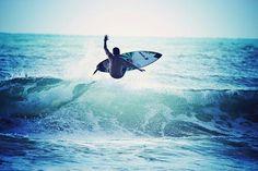 Imagen de surf, beach, and blue