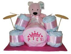 Si estas buscando un regalo original te encantará nuestra batería de pañales. Un regalo que combina practicidad y originalidad para sorprender a los papás y bebés más marchosos!   Disponible en color azul o rosa, sólo 38.45€!!  www.lacestitadelbebe.es #tartadepañales #tartasdepañales #bateriadepañales #regalosdepañales #regalosparaembarazadas #pañales #Dodot #regalosoriginales #regalosprácticos #papás #bebé #bebés #instababy #babyshower Baby Shower, Christmas Ornaments, Holiday Decor, Children, Cake, Diy, Crafts, Color Azul, Music Girl