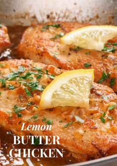 Lemon Butter Chicken The simplest but tastiest chicken recipe! Chicken Teriyaki Recipe, Chipotle Chicken, Yummy Chicken Recipes, Chicken Nachos, Chicken Meals, Slow Cooker Chicken, Cooking Food, Healthy Cooking, Cooking Recipes