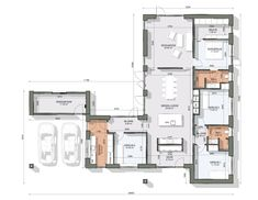 Facade, Floor Plans, How To Plan, House Template, Houses, Terrace, Facades, Floor Plan Drawing, Arbors