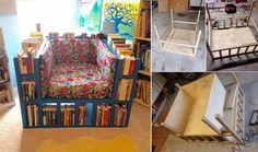How To Make A Bookshelf Chair