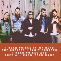 Hearing voices: Lowborn, Anberlin