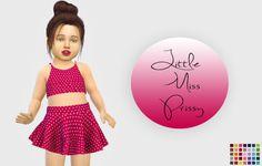 Lana CC Finds - Pixelicecreamz Little Miss Prissy - Recolor