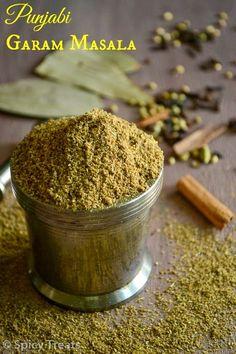 Spicy Treats: Homemade Garam Masala Recipe / Punjabi Garam Masala Recipe