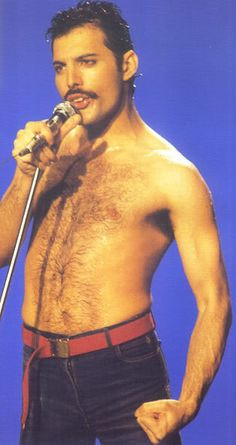 Freddie Mercury. Early 1980's? - queen! loved QUEEN!