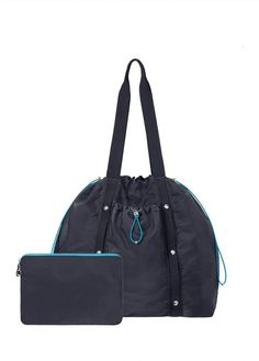 f334dfac0 Baggallini Tempo Tote Bag Workout Essentials, Simple Bags, Midnight Blue,  Sling Backpack,