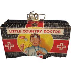 Wonderful Transogram Vintage Country Doctors Case Free P&I US Buyers