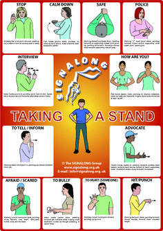 Taking a Stand (Bullying) poster