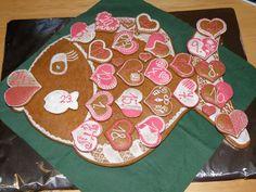 Adventní kalendář - ryba Tree Skirts, Pot Holders, Christmas Tree, Holiday Decor, Advent, Fondant, Cookies, Pictures, Teal Christmas Tree
