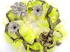 Ideas and Inspirations: A New Twist on the Deco Mesh Wreath