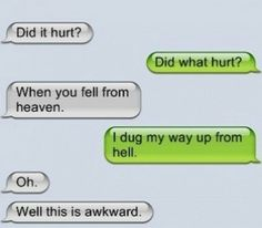 Funny text convo