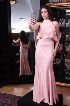 Elegant Pink High Neck Sleeveless Sheath Long Evening Dress, Unique Long Prom Dress This dress is very cheap and good quality. It can be made with custom sizes and color. Prom Dresses Long Pink, Cheap Prom Dresses, Unique Dresses, Dresses For Teens, Evening Dresses, Wedding Dresses, Dress Prom, Party Dresses, Maxi Dresses