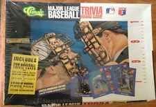 New MLB Trivia Collector Limited Edition Board Game 1991 Baseball Sport Spring