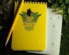 Waterproof Notepads: If you spend much time at all outdoors, sometime the need to make a note in the rain will occur. Then you will need some waterproof paper such as http://www.riteintherain.com/ Ultra Light Hiking, Ultralight Backpacking