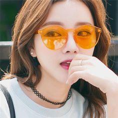 cd556037d1bbc New Fashion Rimless Vintage Round Mirror Sunglasses Women Luxury Brand  Original Design Sun Glasses Men women