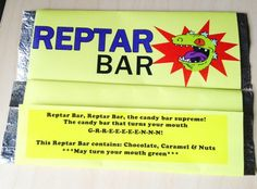 Make your own Reptar Bar
