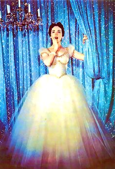Julie Andrews in Rodgers and Hammerstein's Cinderella, 1957.