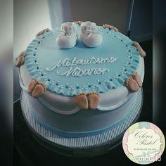 Torta de bautismo varon Torta Baby Shower, Cupcake Cakes, Cupcakes, Baby Shawer, Oreos, Holidays And Events, Beautiful Cakes, Birthday Cake, Desserts