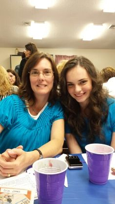 My beautiful mom and sister 2014