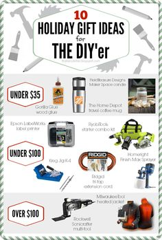 Here it is, my ultimate holiday gift guide for the DIY'er. If you have a DIY'er on your gift list I guarantee any one of these tools w...