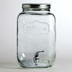 Glass Yorkshire Dispenser