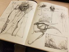 Sketchbook Pic 3, Bobby Rebholz on ArtStation at https://www.artstation.com/artwork/qd0oR
