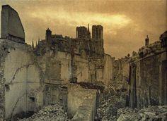 Rue de la Gabelle, Reims, 28 March 1917
