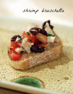 shrimp bruschetta » really risa