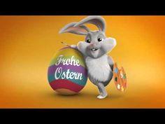 Frohe Ostern & liebe Grüße vom Osterhasen  Zoobe Hase Bunny - YouTube