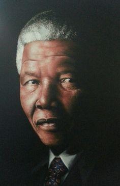 Wakaba Mutheki - Nelson Mandela Nelson Mandela, Cool Art, Art Photography, African, Eye, Celebrities, Caricature, Artistic Photography, Fine Art Photography