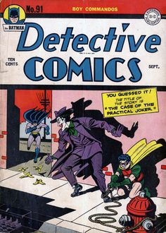Comic Book Covers - Dick Sprang