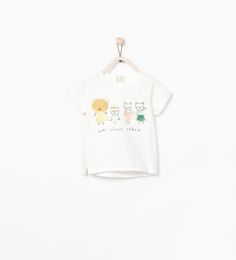 Image 1 of TIGER FAMILY T-SHIRT from Zara