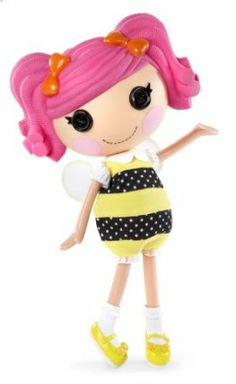 MGA Lalaloopsy Fashion Pack - Bee Costume by MGA Entertainment. $9.56. Fashions fit any Lalaloopsy doll. Matching pair of shoes. Adorable Lalaloopsy fashions. Different styles available. From the Manufacturer                You can dress up your magical Lalaloopsy dolls in outfits for every occasion. Each fashion comes with a matching pair of shoes, and the outfits fit any Lalaloopsy doll.                                    Product Description                You can ...