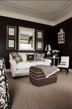 Stylish Black & White Interiors by Kelley Proxmire   Interior Design Files