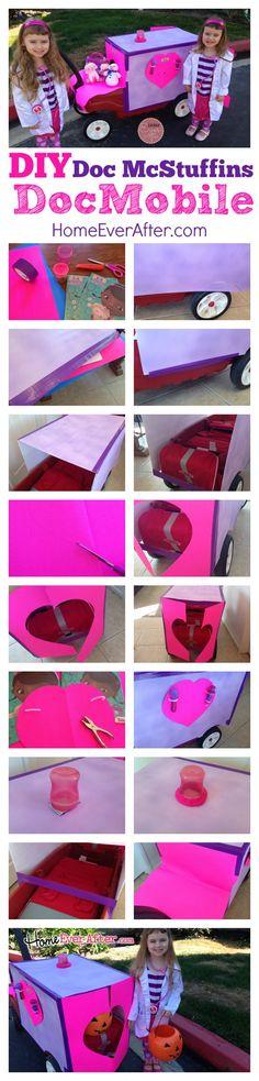 DIY Doc McStuffins DocMobile Project Home Ever After #juniorcelebrates #cbias #shop