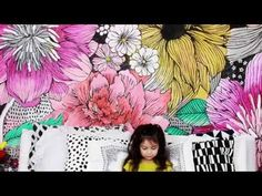 bedroom mural - YouTube