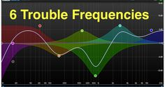 The 6 Trouble Frequencies Music Recording Studio, Audio Studio, Home Studio Music, Logic Pro X, Recorder Music, Sound Design, Music Theory, Music Mix, Electronic Music