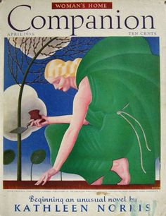Artist: William P. Welsh. American illustrator (1889-1984). 1936 Woman's Home Companion Cover