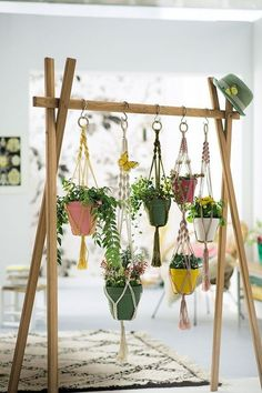 Hanging planter indoor Wall succulent planter Ceramic plant hanger Ceramic plant holder Wall succulent pot Hanging plant pot - Plant Pot - Ideas of Plant Pot - diy planter ideas Diy Macramé Suspension, Decoration Plante, Green Decoration, Diy Planters, Planter Ideas, Garden Planters, Diy Hanging Planter, Hanging Baskets, Window Planters