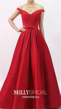 Vestido largo madre de la novia 2017 XM 9701 rojo   When you