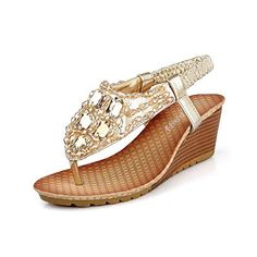 WeenFashion Womens Open Toe Kitten Heels Soft Material Solid Sandals, Gold, 7 B(M) US WeenFashion http://www.amazon.com/dp/B00KZFWL98/ref=cm_sw_r_pi_dp_gphvvb0VH00TD