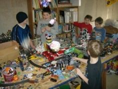 Lego Birthday Party Ideas:  I have taught boys of all ages for twenty years and one thing that is TIMELESS and is always a winner, plus engages kids in using a variety of thinking and motors skills are LEGOs. They're great!