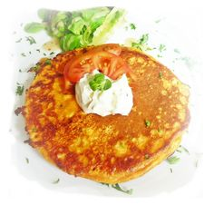 How to Make All Sorts of Pancakes for Pancake Day - eg. roasted tomato pancake.  #PancakeDay #recipes