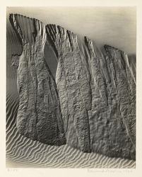 Sand Dunes, Oceano, California, American, 1934.No description available