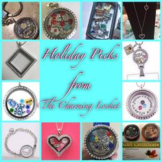 A Floating Locket is a great gift for Mom, Grandma, Daughter, Friend, Teachers and more! Stainless steel locket WITH charms starts at just $25! See all charms and lockets on FB at The Charming Locket