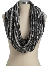 Women's Funnel-Neck Infinity Scarves  Regular Price  $16.94